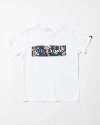 【SALE】BILLABONG キッズ UNITED LOGO Tシャツ(90〜160)