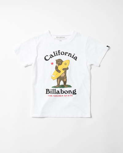 【SALE】BILLABONG KIDS CUFFY CALIFORNIA Tシャツ(90〜160)