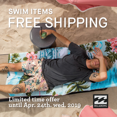 SWIM ITEMS FREE SHIPPING 2019SS